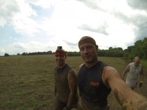 End of Course Tough Mudder Nashville 2014, Rob St John and Steve Shuff
